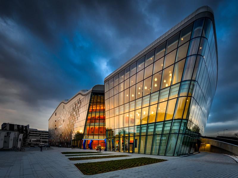 Kongresszentrum in Krakau - Building exterior
