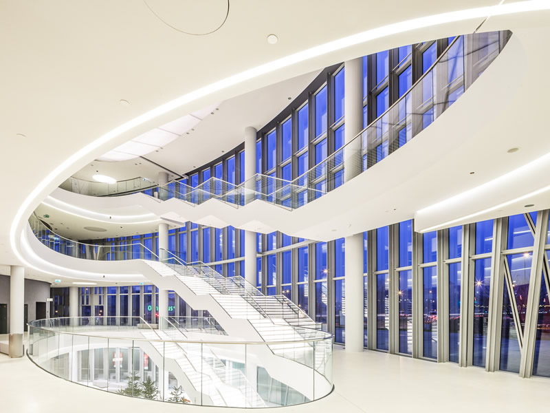 Kongresszentrum in Krakau - Foyer