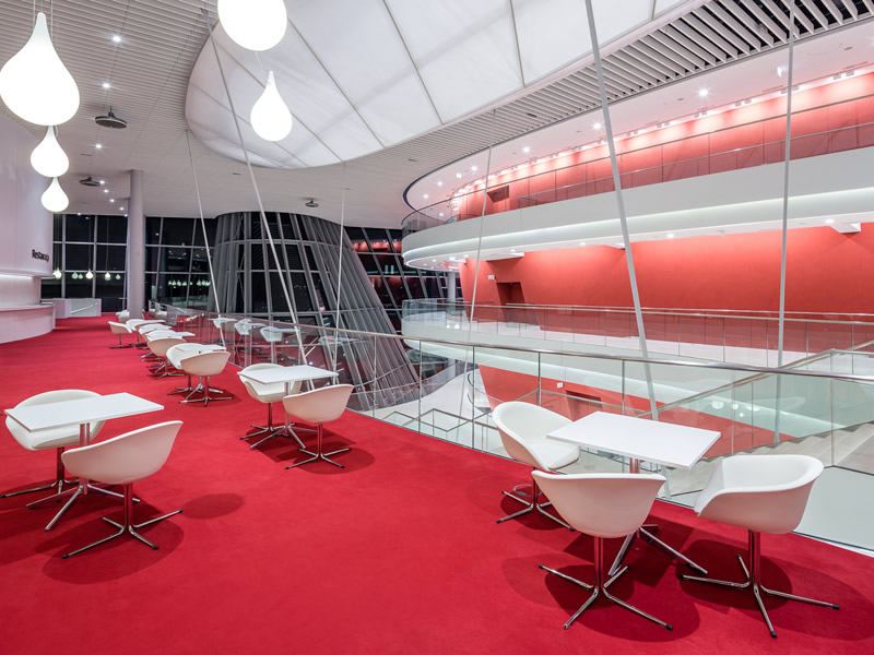 Kongresszentrum in Krakau - Foyer & restaurant