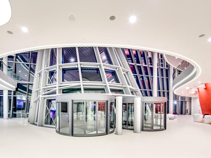 Kongresszentrum in Krakau - Main entrance