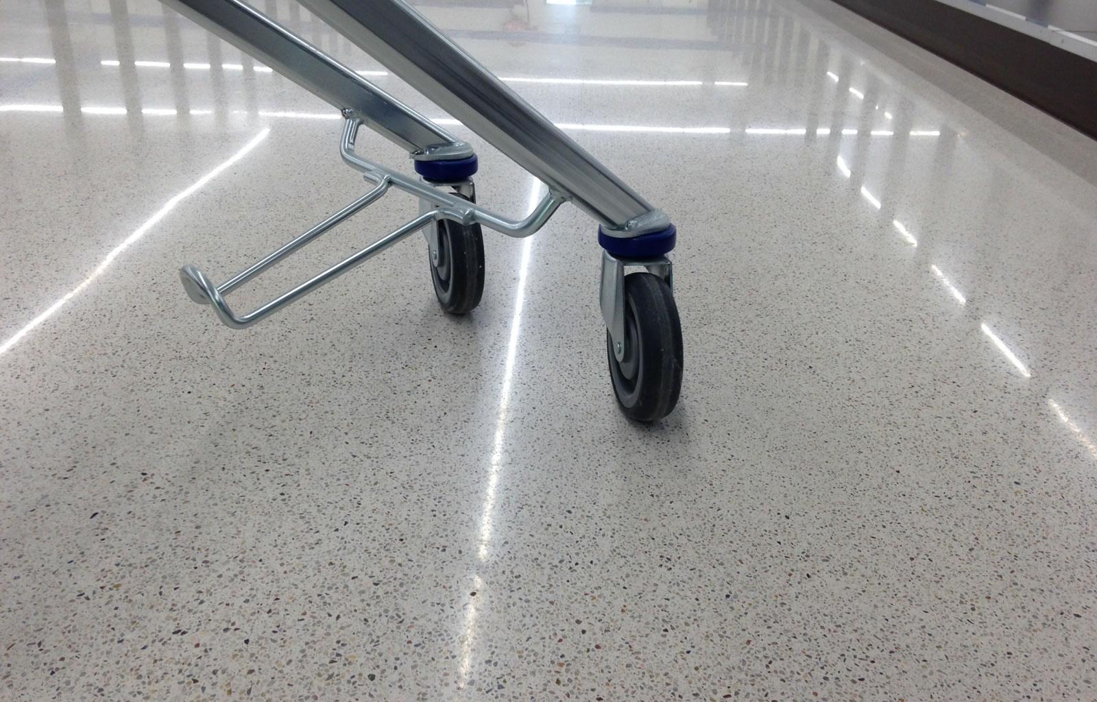 Startseite - Jointless Terrazzo floor