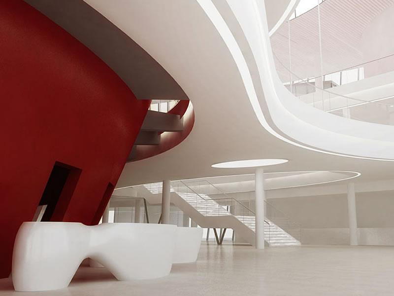 Kongresszentrum in Krakau - Grand foyer