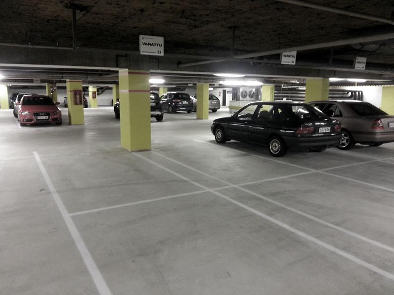 Tiefgarage - Dense concrete floor